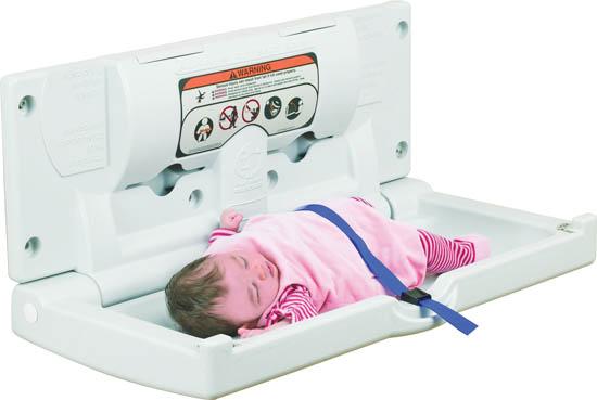 Stanowisko do przewijania dzieci i niemowląt IMPECO (poziomy)