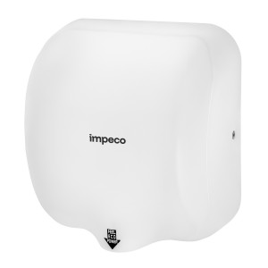Suszarka do rąk 1800W Stream Flow White Impeco stal biala