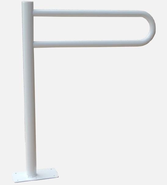 Uchwyt Stały Wc Wolnostojący 60cm Fi32mm Biały