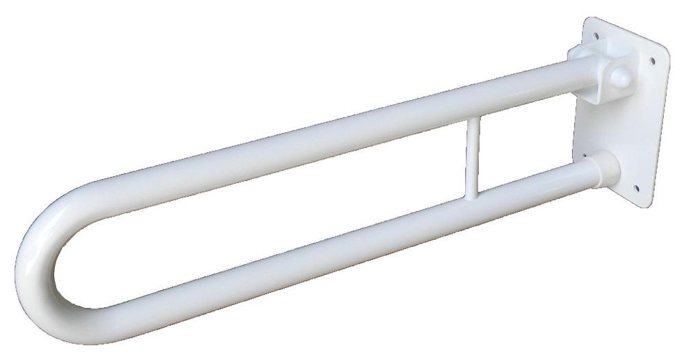 Uchwyt Uchylny Dla Niepełnosprawnych 70cm Fi 25mm Biały