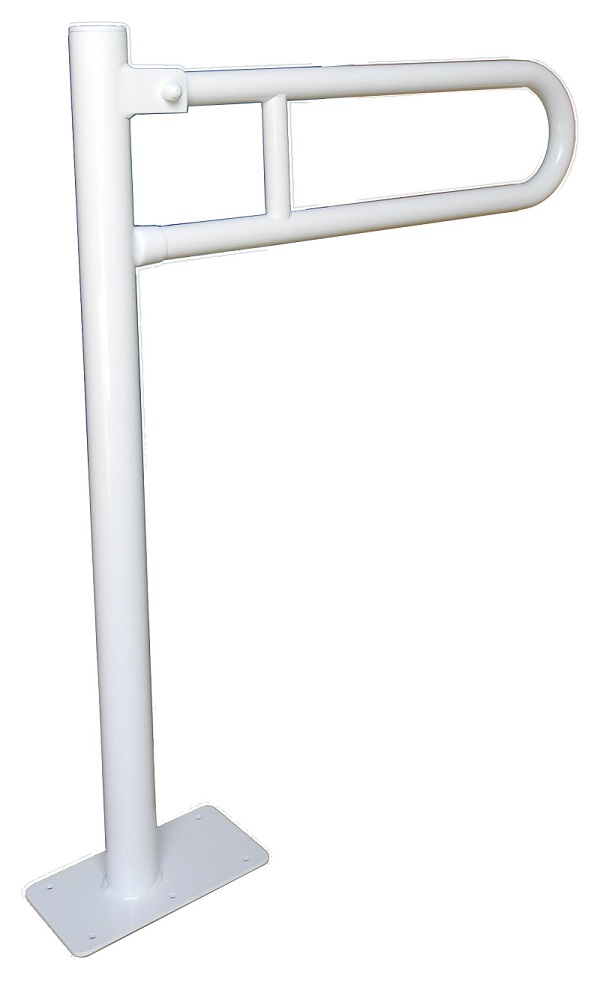 Uchwyt Uchylny Wc Wolnostojący 80cm Fi32mm Biały